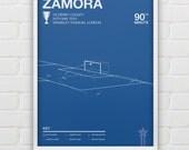 Bobby Zamora - QPR vs Derby Giclee Print