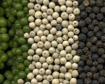 Green Pepper Corns - Organic (Whole)