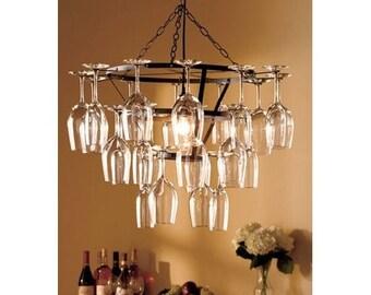 popular items for verre de lustre on etsy. Black Bedroom Furniture Sets. Home Design Ideas