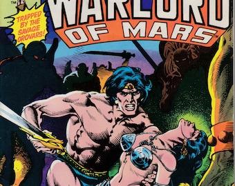John Carter Warlord of Mars #17, October 1978 Issue - Marvel Comics - Grade Fine