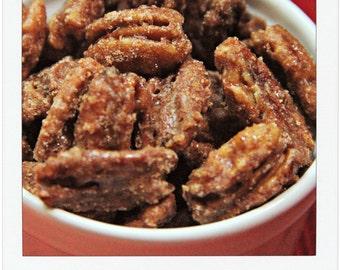 Fresh GEORGIA Nutmeg CANDIED PECANS - 1 lb.