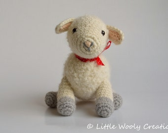Crochet pattern Sofie and Lucie de lambs, sheep/Lamb