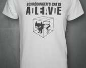 Schrodingers Cat - Big Bang Theory Inspired T-shirt