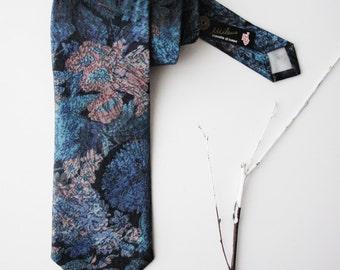 Vintage Tie 1970s Menswear, Vintage necktie, 1970's tie, necktie, anchorman tie