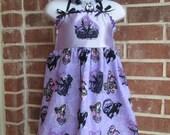 Boutique custom handmade pageant girls Disney inspired Maleficent Dress, 12mo-7/8