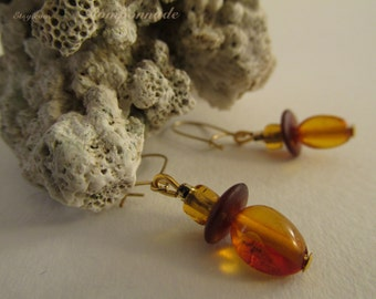 2739 - Amber Earrings