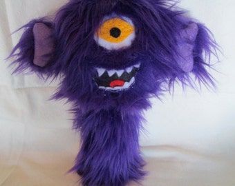 Flying Purple People Eater Catnip Cat Toy