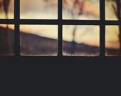 A Sunset To Come, original fine art photography, print, landscape, highland, nature, square,  mountain, hill, scotland, dusk, dark, evening