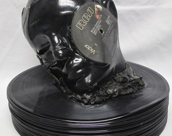 Angelo Bramanti and Giuseppe Siracusa L017 Vinyl Record Sculpture