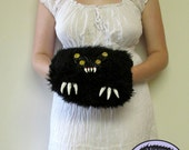RESERVED Custom Monster Muff With Pockets