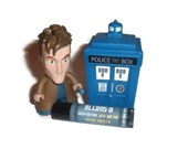 """The Tenth Doctor """"Allons-y!"""" Doctor Who Inspired Lip Balm - French Vanilla Flavor Geek Stix"""