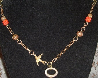 Antique Key Necklace- Steampunk