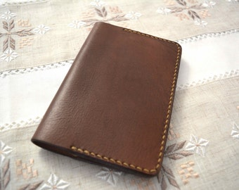 PERSONALISED Leather Notebook Cover,EMBOSSED Cover,Moleskine Cover,Cahier Cover,Passport Cover,Journal Cover,NotePad Cover,Diary Cover