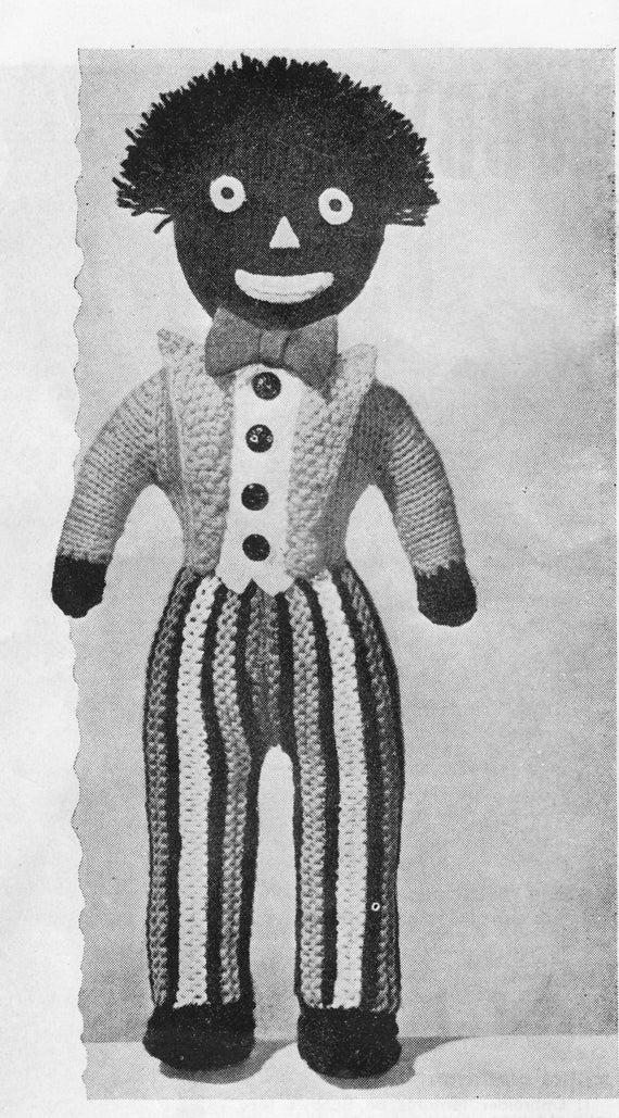 Vintage Knitting Pattern Pdf Knitted Doll Knitting Pattern