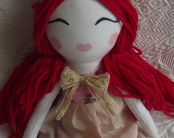 Handmade Cloth Doll Rosie