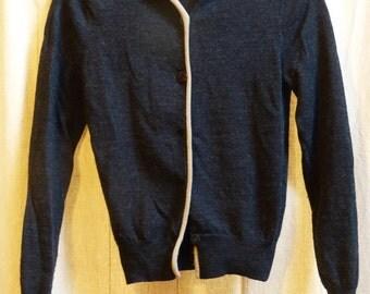100 % wool cardigan