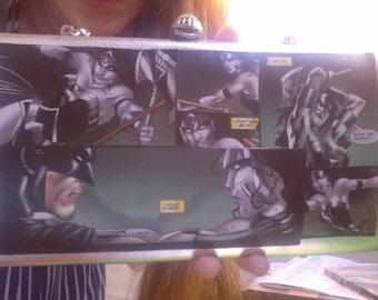 Silver Clutch Blackest Night Black Lantern Wonder Woman Star Sapphire Batman Purse DC Comics Ultra Kawaii!