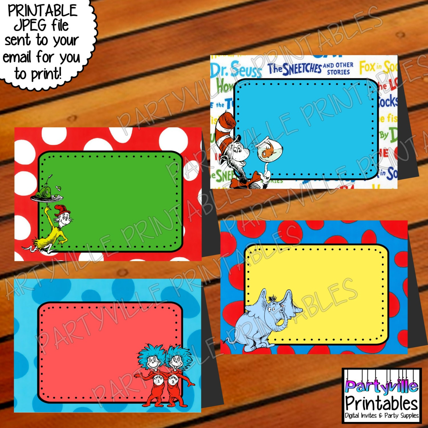 ... Food Tents Dr. Seuss Inspired Place Cards Food Tags - 1500x1500 - jpeg