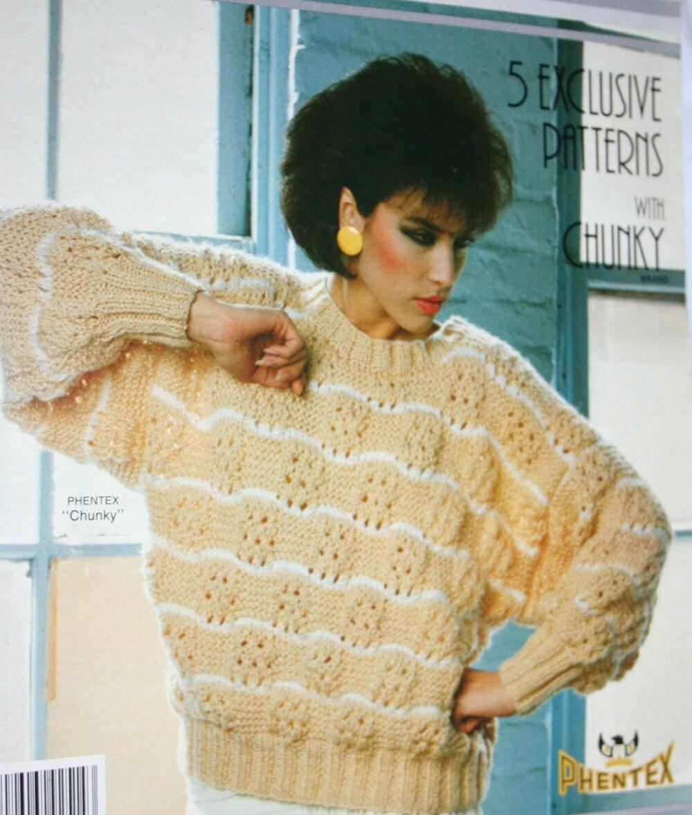 Fashionable Knitting Patterns : Sweater Knitting Patterns Fashion Knit Phentex 92514E by elanknits