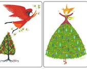 Holiday Tree Note Cards