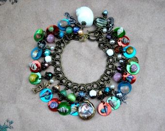 Mermaid Treasure Charm Bracelet