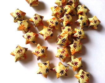 Origami Lucky Stars - Autumn Leaves (custom orders available)