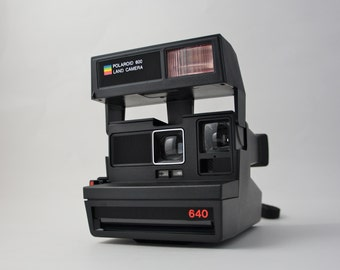 Polaroid 640 Rainbow Land Camera