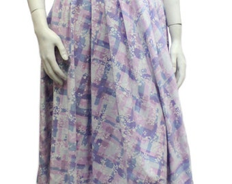 Vintage 1950's Cotton Halter Dress Size 6
