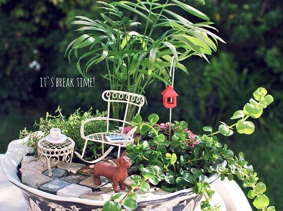 Miniature Garden Kit For Fairy Gardenterrariumdoll