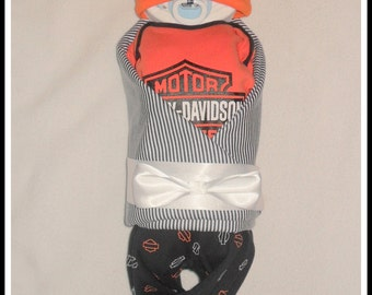 Sale! AMAZING Harley Diaper Baby-Perfect Gift For The New Baby