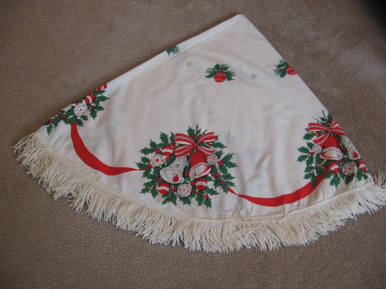 Vintage Christmas Table Cloth 56 X 62 Christmas By