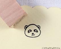 panda Small Rubber Stamp