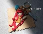 Aurora Child of light Keychain