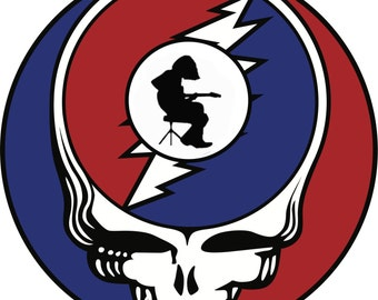 Stealie Mikey Sticker. Grateful Dead and Widespread Panic. Michael Houser WSP lot Get em while they're hot. FREE SHIPPING