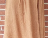 Vintage Tagless Tan Skirt...
