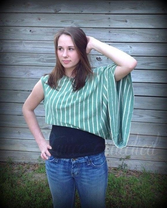 refashioned upcycled tee shirt top