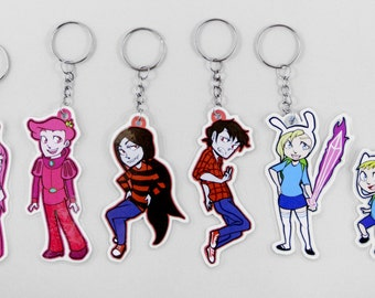 Adventure Time Character Keychains