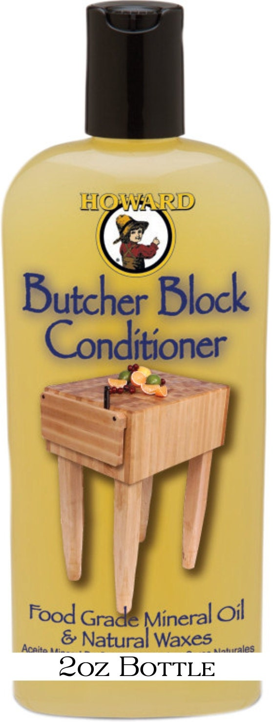 Howards Butcher Block And Cutting Board Conditioner And