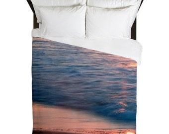 ocean bedroom decor. Duvet Cover  Beach Bedroom Decor Ocean Pink Shabby Chic bedroom decor Etsy