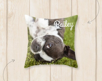 Custom Pet Pillow - Personalized Dog Pillow - Custom Cat Pillow - Custom Pet Pillow - Personalized Pillow - Cushion