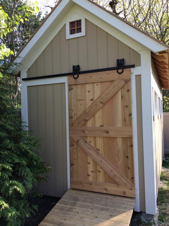 Items Similar To All Cedar Sliding Barn Door On Etsy