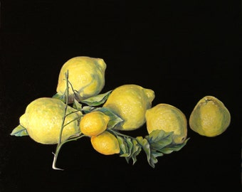 cedars and lemons - yellow color - cedars - lemons - cedri e limoni
