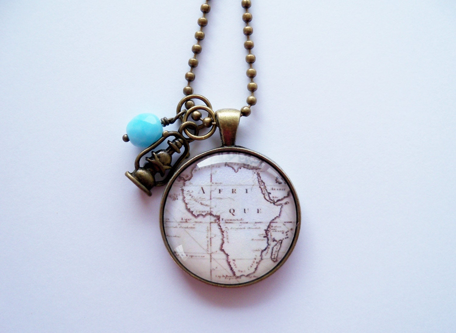 map of africa necklace map pendant necklace custom