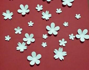 Paper Wall 3D Flower - 3D Wall Art - Paper Flower - wall paper flower