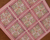 Quilt miniature katie arthur Embroidery shabby country dollhouse scale french knot