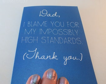 Dad Card / Father's Day Card / Dad Birthday Card / Funny Card / Card for Father / Father's Day