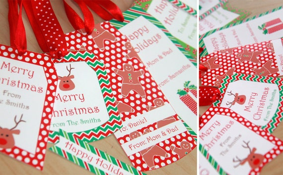 Free Editable Printable Christmas Tags | Search Results | Calendar ...