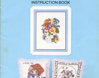 Something Special Beginner's Counted Cross Stitch Instruction Book by Candi Martin