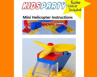 LEGO® Party Favor - Mini Helicopter