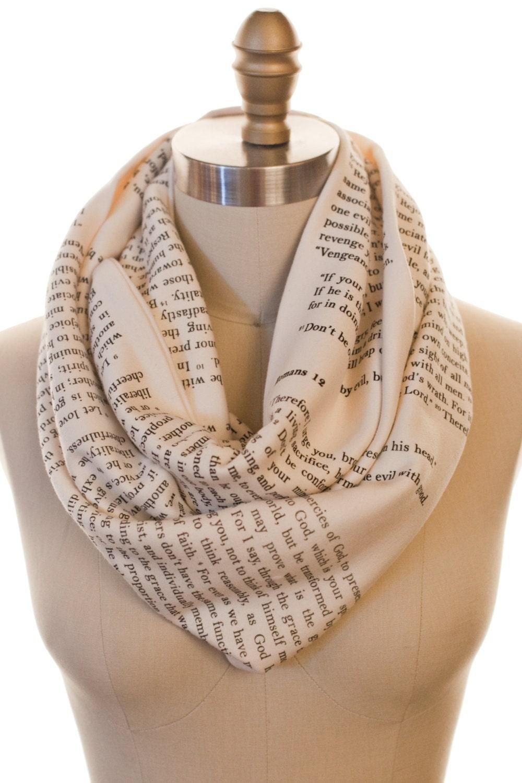romans 12 book scarf